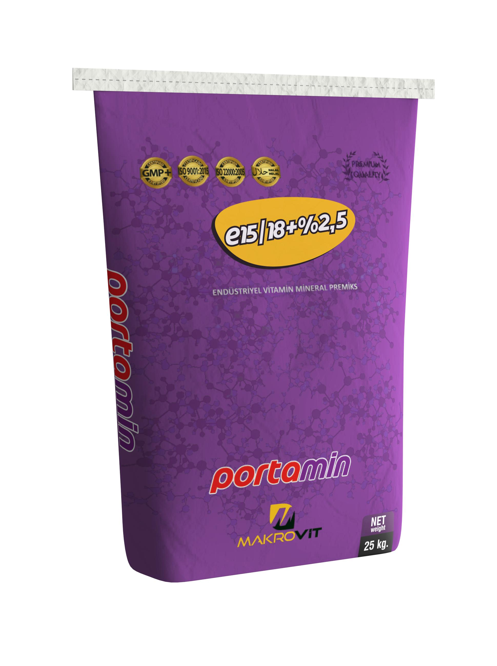 Portamin E15/18+%2,5